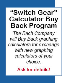 'Switch Gear' Calculator Buy Back Program